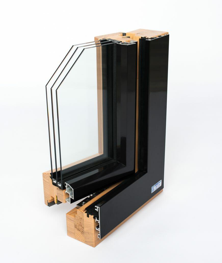Holz aluminium fenster br cking fenster for Holz aluminium fenster