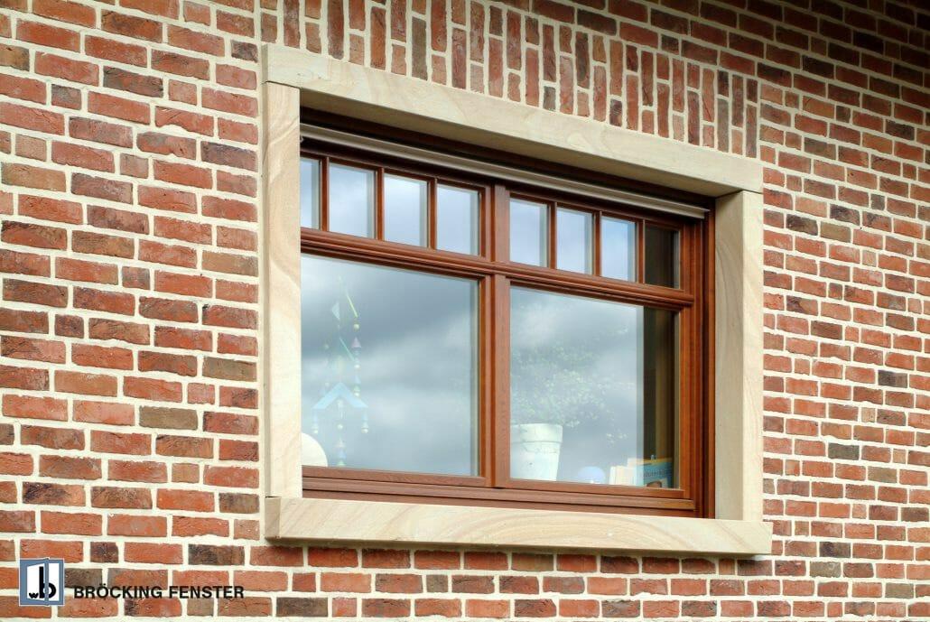 Holzfenster sind in den unterschiedlichsten Farbtönen verfügbar.