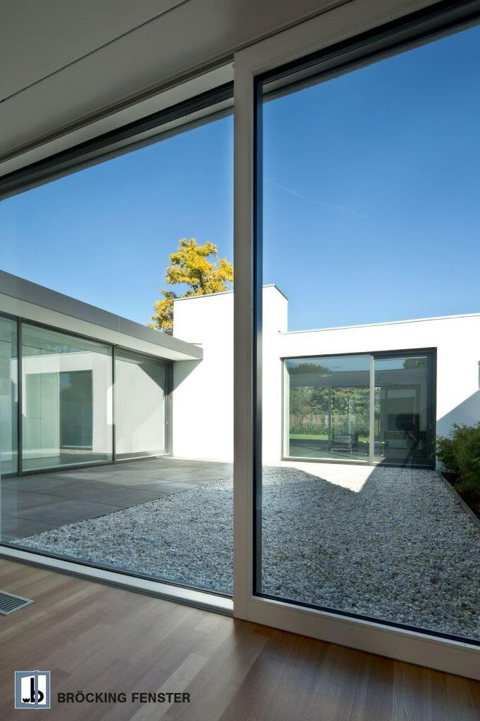 Moderne fenster fassade  Holz-Aluminium-Fenster - BRÖCKING FENSTER