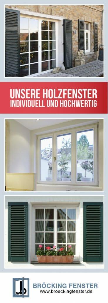 Holzfenster br cking fenster for Fenster 2 farbig