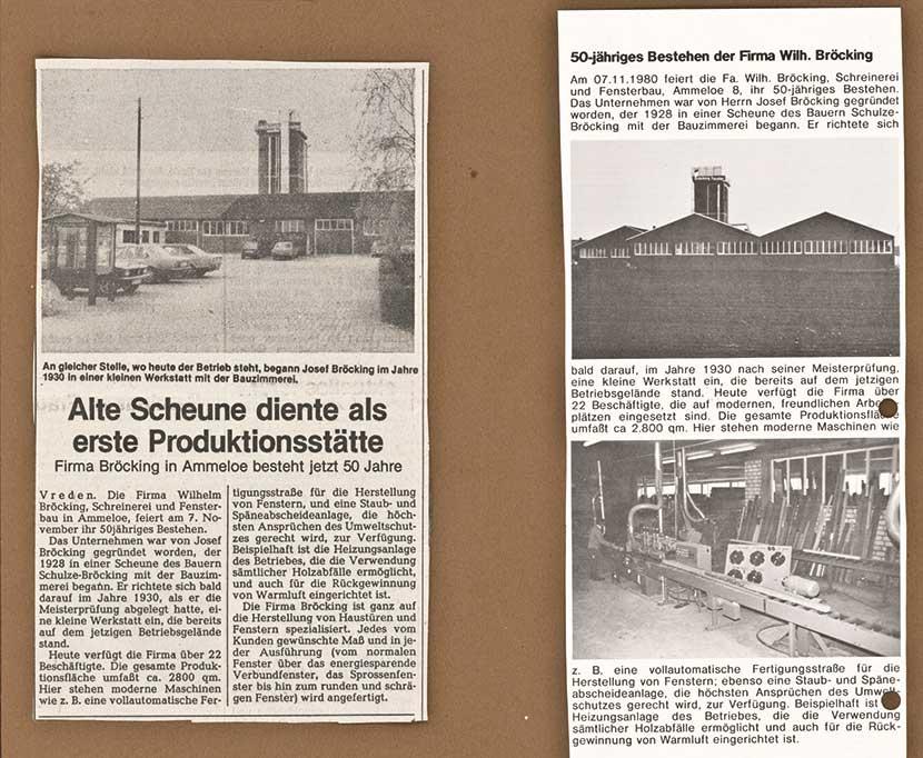 1980-Starke-Wurzeln-Firmengeschichte-Bröcking-Fenster-Jubiläum-50-Jahre