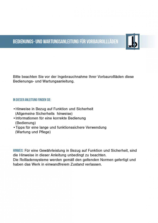 Bedienungs-und-Wartungsanleitung-für-Vorbaurolläden