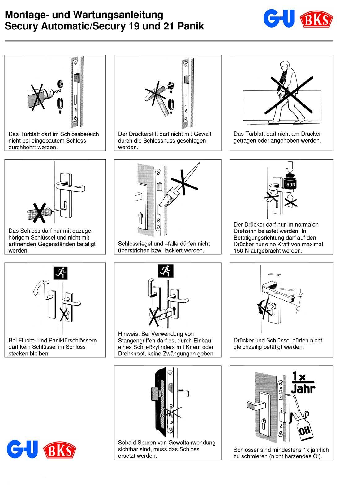 Montage-und-Wartungsanleitung-Secury-Automatic-Secury-19-und-21-Panik-GU-BKS-1