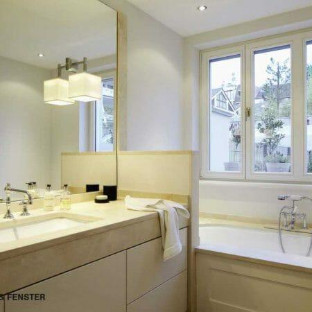 Holzfenster lassen sich an jeden Einrichtungsstil anpassen und ergänzen ihn perfekt.