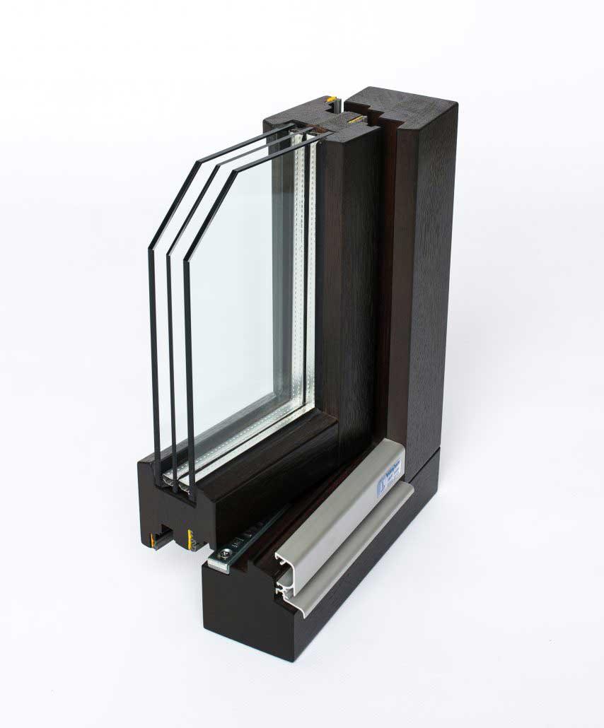 Bröcking Fenster Holzfenster Musterwinkel Fensterschnitt Ausstellung