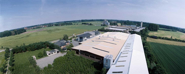 Luftaufnahme Bröcking Fenster firmengebäude und Produktion